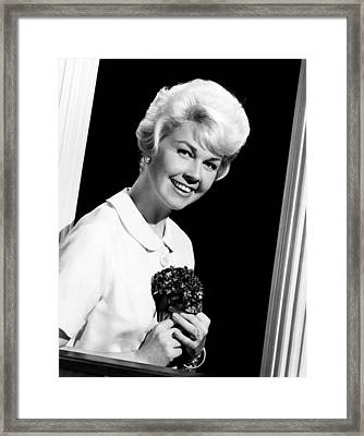 Pillow Talk, Doris Day, 1959 Framed Print by Everett