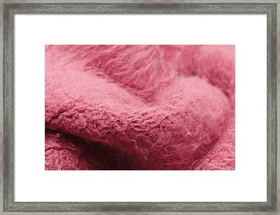 Pink Scarf Framed Print by Tom Gowanlock