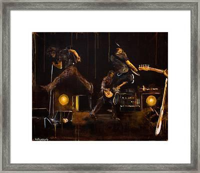 PJ  Framed Print by Josh Hertzenberg