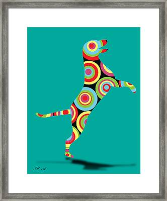 Pointer Framed Print by Mark Ashkenazi