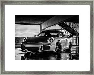 Porsche 911 Gt3 Framed Print by Douglas Pittman