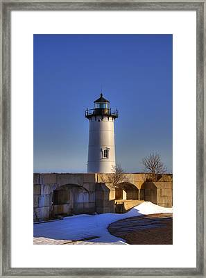 Portsmouth Harbor Light Framed Print by Joann Vitali