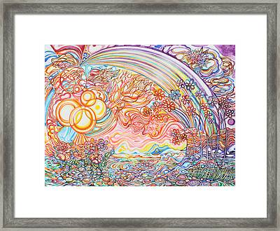 Primavera Framed Print by Susan Schiffer
