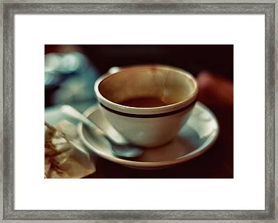 Quad Macchiato Framed Print by Stephanie Hollingsworth