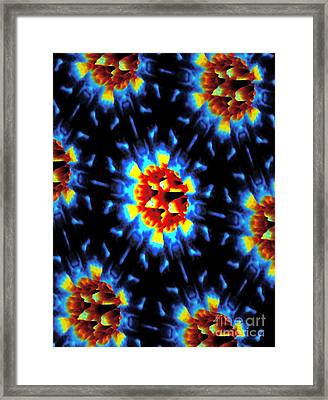 Quantum Waves In Topological Insulators Framed Print by Dr. Ali Yazdani