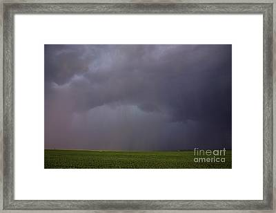 Rainstorm Framed Print by Francis Lavigne-Theriault