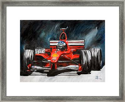 Red #3 Framed Print by Robert Schippnick