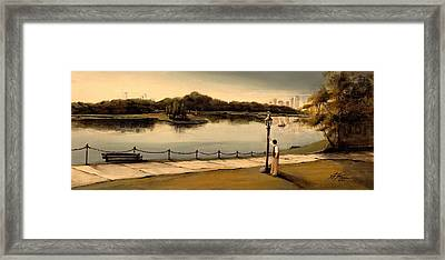Reflections Framed Print by Diane Strain