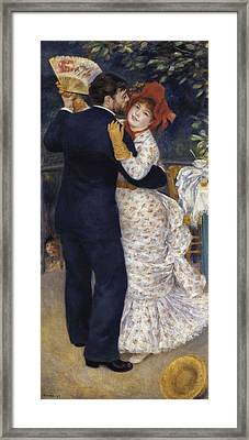 Renoir, Pierre-auguste 1841-1919. Dance Framed Print by Everett