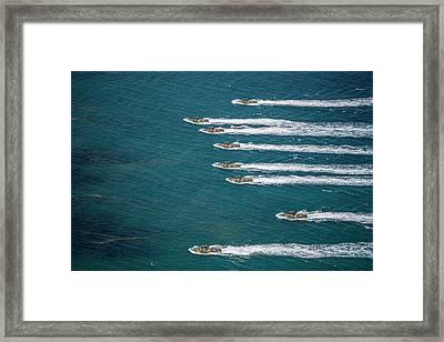 Republic Of Korea Amphibious Assault Framed Print by Stocktrek Images