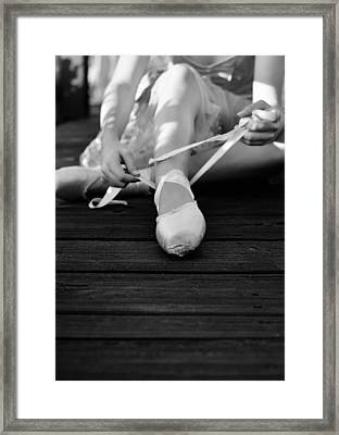 Rituals Framed Print by Laura Fasulo
