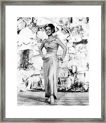 Road To Bali, Dorothy Lamour, 1952 Framed Print by Everett