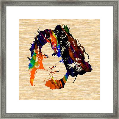 Robert Plant Collection Framed Print by Marvin Blaine