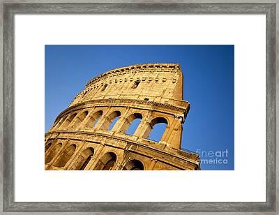 Roman Coliseum Framed Print by Brian Jannsen