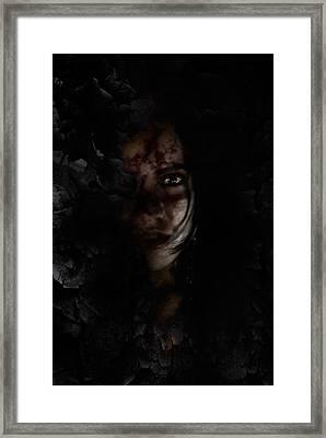 Rosebud Framed Print by David Fox