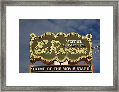Route 66 - Gallup New Mexico Framed Print by Frank Romeo