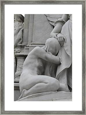 Sadness Framed Print by Stefan Kuhn