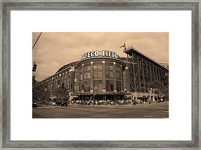 Safeco Field - Seattle Mariners Framed Print by Frank Romeo