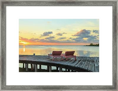Saint Georges Caye Resort, Belize (pr Framed Print by Stuart Westmorland