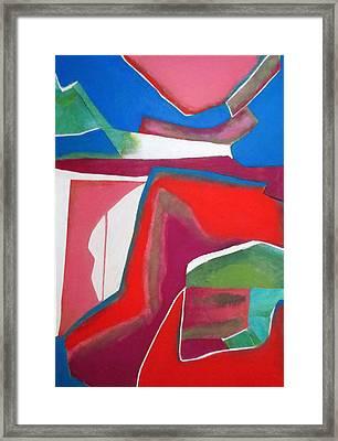 Salsa Framed Print by Diane Fine
