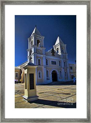San Jose Del Cabo Framed Print by David Smith