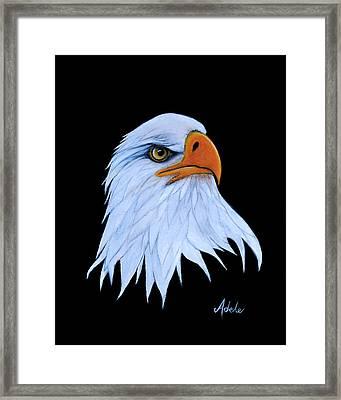 Sarah Framed Print by Adele Moscaritolo
