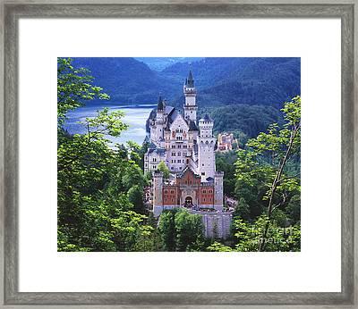 Schloss Neuschwanstein Framed Print by Timm Chapman
