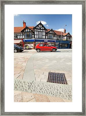 Shared Space In Poynton Framed Print by Ashley Cooper