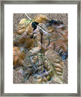 Sheltered Framed Print by Kurt Van Wagner