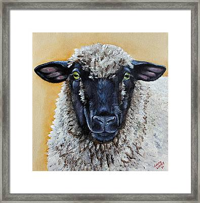 Shirley Framed Print by Laura Carey