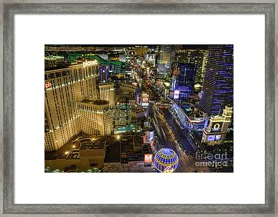 Sin City Framed Print by Eddie Yerkish