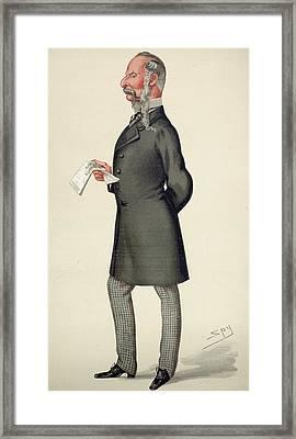 Sir John Tenniel (1820-1914) Framed Print by Granger