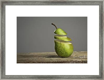 Sliced Framed Print by Nailia Schwarz