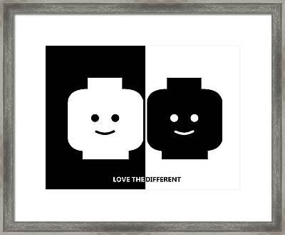 Slogan Framed Print by Ernesto Cinquepalmi