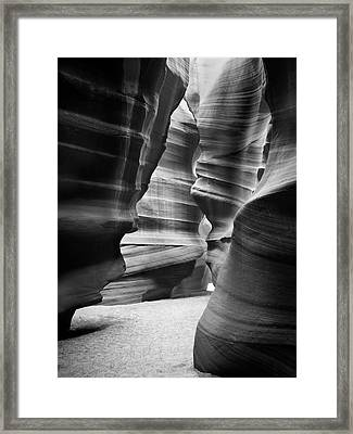 Slot Canyon 3 Framed Print by Mike McGlothlen