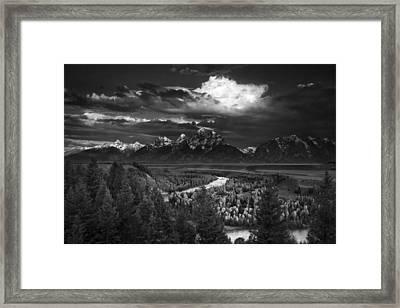Snake River Overlook Framed Print by Andrew Soundarajan