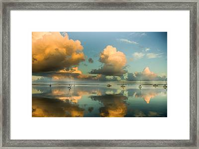 Sounds Of Silence Framed Print by Karen Wiles