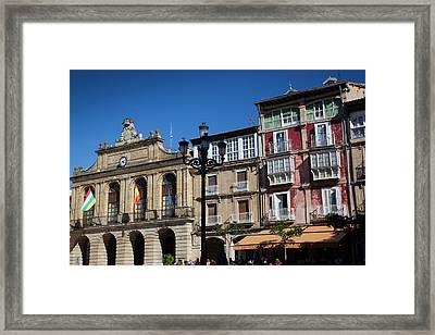 Spain, La Rioja Region, La Rioja Framed Print by Walter Bibikow