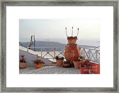 Spectacular View Framed Print by Sarah Christian