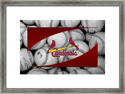 St Louis Cardinals Framed Print by Joe Hamilton