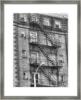 Stairs Framed Print by Dan Sproul