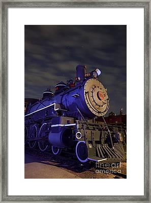 Steam Locomotive Framed Print by Keith Kapple