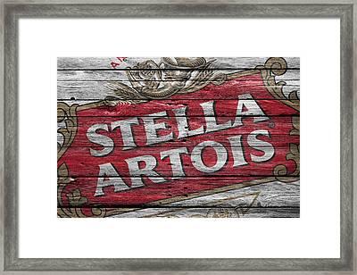 Stella Artois Framed Print by Joe Hamilton