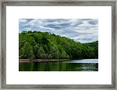Stonewall Jackson Lake Wildlife Management Area Framed Print by Thomas R Fletcher