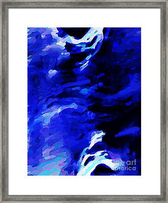 Storm At Sea Framed Print by Sarah Loft