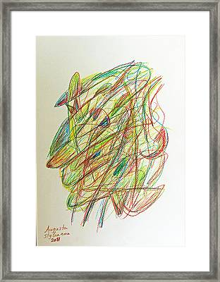 Subconscious Thought No. 1 Framed Print by Augusta Stylianou