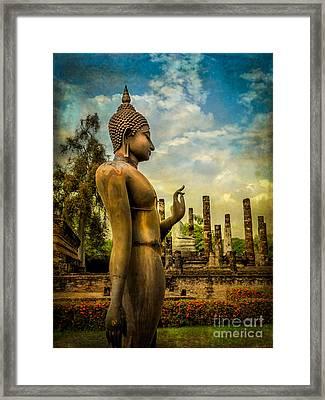 Sukhothai Buddha Framed Print by Adrian Evans
