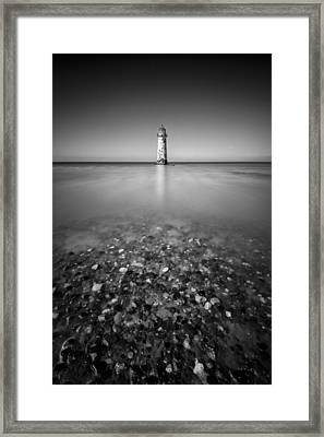 Talacre Lighthouse Framed Print by Dave Bowman