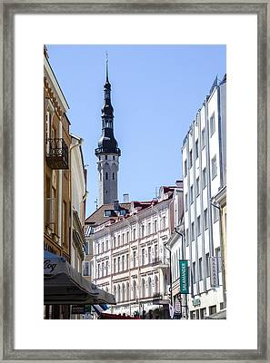 Tallin Estonia Framed Print by Jon Berghoff
