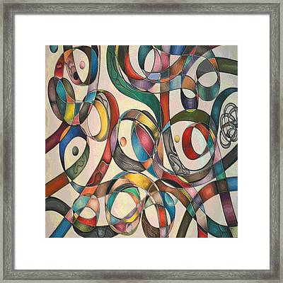 #2 Tangled Series Framed Print by George Curington
